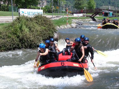 Rafting in Parc Olímpic of La Seu d'Urgell 1 hour