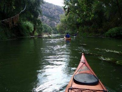 Canoeing tour García-Benissanet, in Tarragona