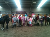 Birthday party at Hooves & Paws