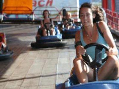 The Pleasure Beach Karting