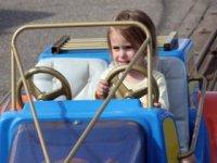Karting for kids.