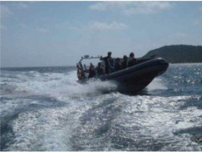 Boat Hire in Pentewan Bay for 1h