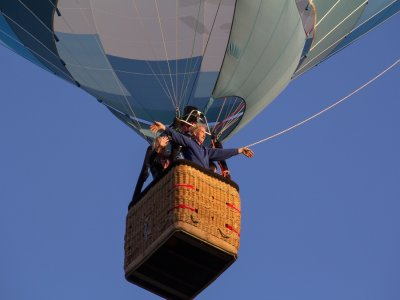 Balloon flight for couples with lunch Aranjuez
