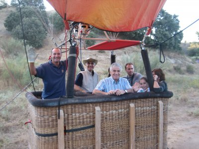 Private balloon flight with picnic and photos Aranjuez