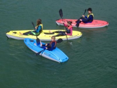 1 Hour Single Kayak Hire Pentewan