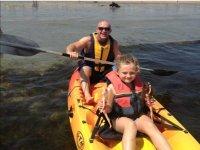 Kayak Hire in Pentewan for 1h