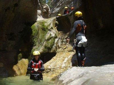 Canyoning in Ventano del Diablo,