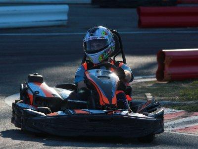 GTR 270cc kart session in Sanxenxo Outdoor 8 mins