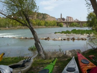 Kayak trip Zaidín-Fraga
