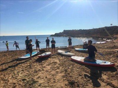 Paddle surf class in La Mata beach 90 min