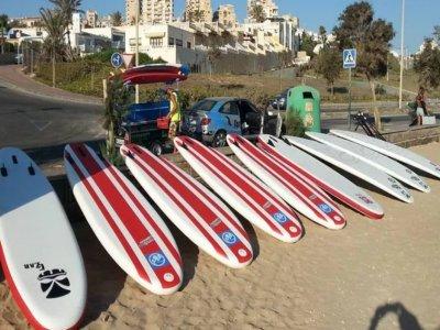 Surf equipment rental in La Mata beach 2 h