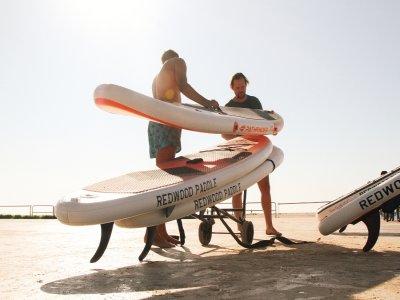 SUP equipment rental in Costa Torrevieja 30min