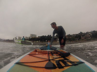 SUP equipment rental in La Mata beach 1 hour