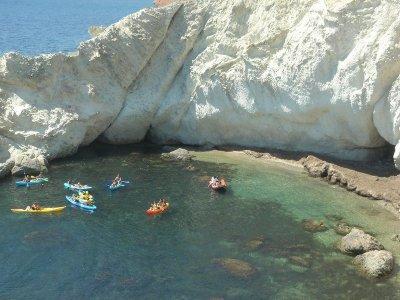 Kayak route from La Caleta to La Alameda 2h