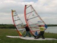 training windsurfing