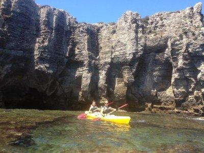 Kayak route through Punta Paloma Cape 2 hours
