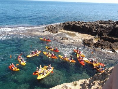 Kayak rental in Playa de Valdelagrana 1 hour