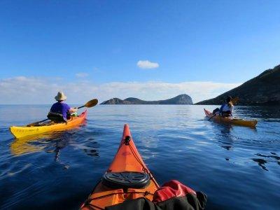 Kayak excursion through Cala Bonita 3 hours