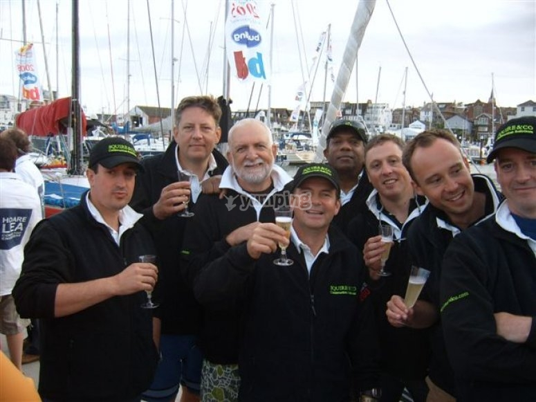 Cowes Week Team Building