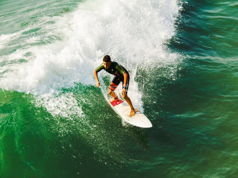 Surfing journey