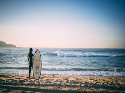 Personalized surf classes in Amble for two hours