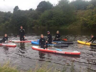 Stand Up Paddle Board for Kids in Amble for 3 h