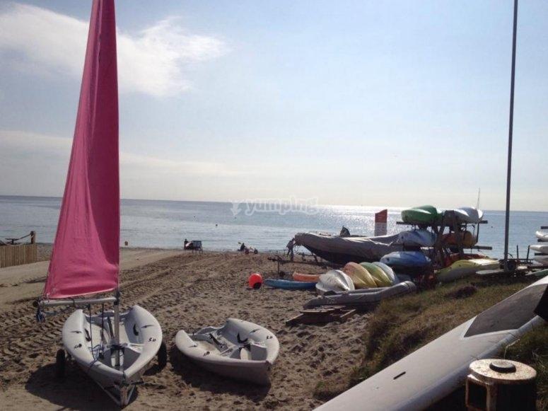 Beaches of Pentewan