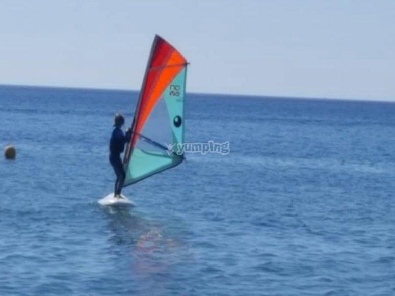 Windsurfing time