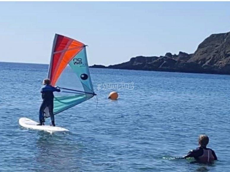 The amazing sport of windsurfing