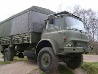 The mamoth army truck