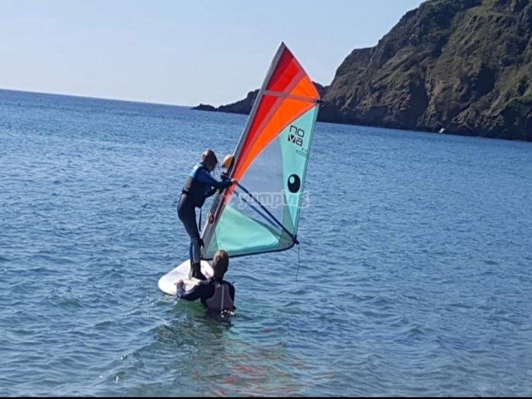 Let your windsurfing journey begin