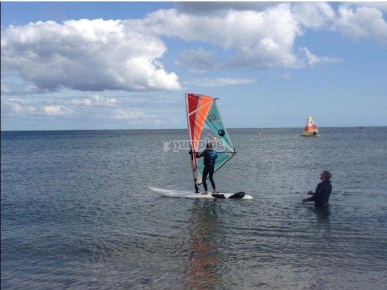 Windsurfing in Cornwall
