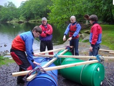 The Oaklands Outdoor Education Centre Rafting