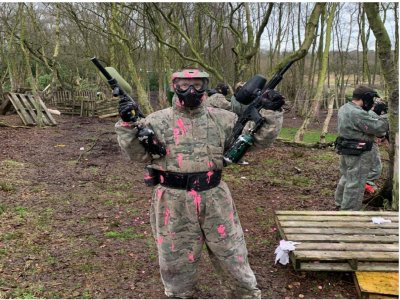Paintball Journey in London for 2hs