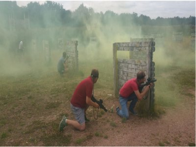 Paintball Match in Glasgow for 2hs