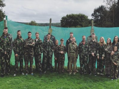 Laser Tag in Exeter for 2hs