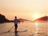Lesson of Paddleboard in Salcombe for 1h10