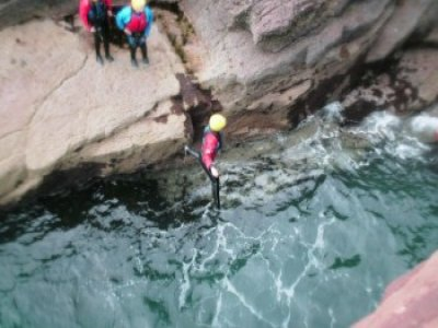 Full Day Coasteering Central Scotland
