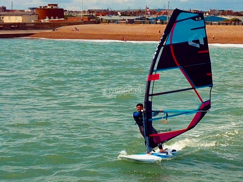 windsurfing East Sussex