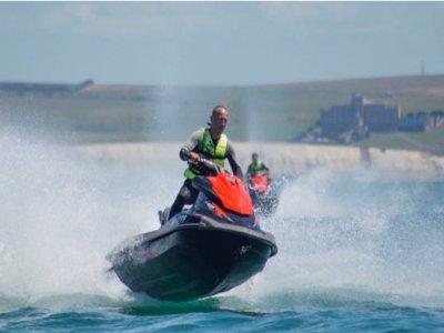 Jet Ski Ride in Brighton Marina for 1h