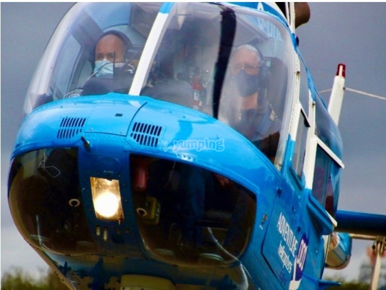 Helicopters in Devon