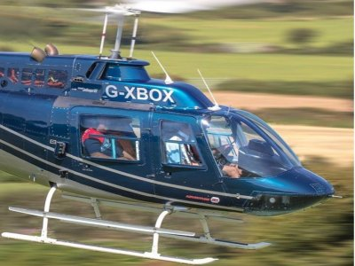Helicopter Experience in Devon for 12 miles