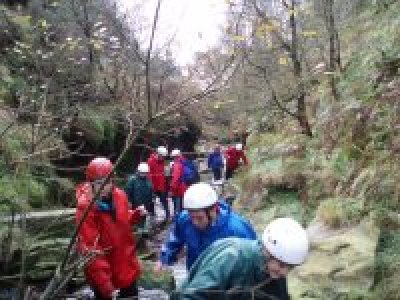 Outdoor Activities Service Canyoning