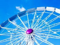 Have a go on the ferris wheel.
