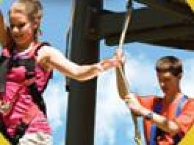 Clarence Pier High Ropes