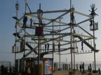 The high ropes course.