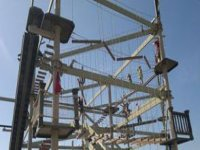 Highropes are a great way to have fun.