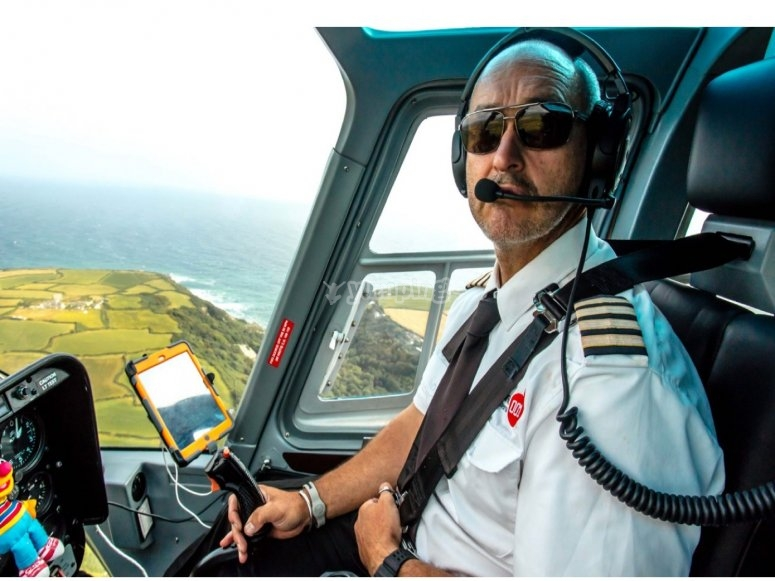Our cool and certified pilot