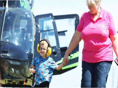 Helicopter Ride over Lancashire for 30min