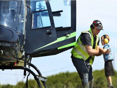Helicopter Adventure over Lancashire for 25miles